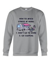 How To Avoid Stress Crewneck Sweatshirt thumbnail