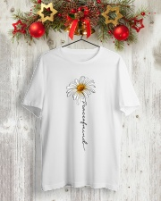 PEACE IS MIND Classic T-Shirt lifestyle-holiday-crewneck-front-2