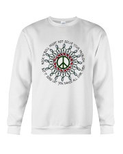 Rock And Roll Might Not Solve Your Problem Crewneck Sweatshirt thumbnail