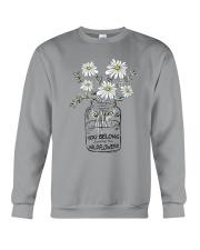 YOU BELONG AMONG THE WILDFLOWER Crewneck Sweatshirt thumbnail