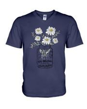 YOU BELONG AMONG THE WILDFLOWER V-Neck T-Shirt thumbnail