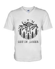 CP-D25021912-Get In Loser V-Neck T-Shirt thumbnail