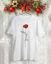 Smile Daisy 2 Classic T-Shirt lifestyle-holiday-crewneck-front-2