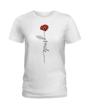 Smile Daisy 2 Ladies T-Shirt thumbnail