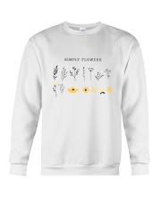 SIMPLE FLOWER Crewneck Sweatshirt thumbnail