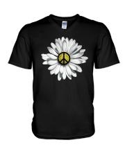 DAISY PEACE V-Neck T-Shirt thumbnail
