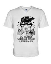 CP-D-0203198-Go Outside V-Neck T-Shirt thumbnail