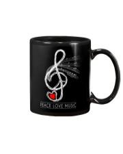 PEACE LOVE COFFE Mug thumbnail