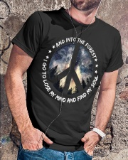 PEACE LOVE Classic T-Shirt lifestyle-mens-crewneck-front-4