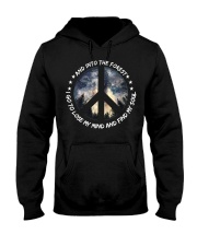 PEACE LOVE Hooded Sweatshirt thumbnail