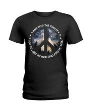 PEACE LOVE Ladies T-Shirt thumbnail