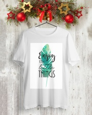 ENJOY THE LITTLE THINGS Classic T-Shirt lifestyle-holiday-crewneck-front-2