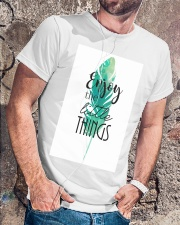 ENJOY THE LITTLE THINGS Classic T-Shirt lifestyle-mens-crewneck-front-4