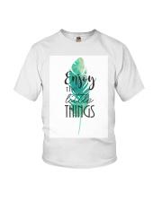 ENJOY THE LITTLE THINGS Youth T-Shirt thumbnail