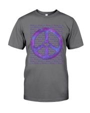 PEACE SIGN Premium Fit Mens Tee front