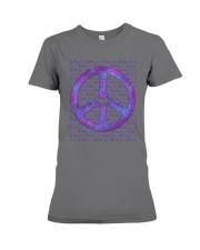 PEACE SIGN Premium Fit Ladies Tee thumbnail