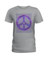 PEACE SIGN Ladies T-Shirt thumbnail