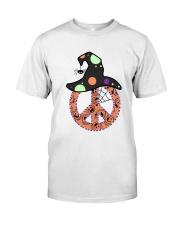 PEACE HALLOWEEN Premium Fit Mens Tee thumbnail
