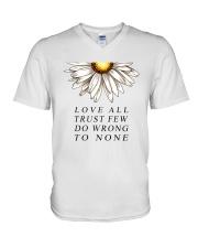 To be humble at heart V-Neck T-Shirt thumbnail