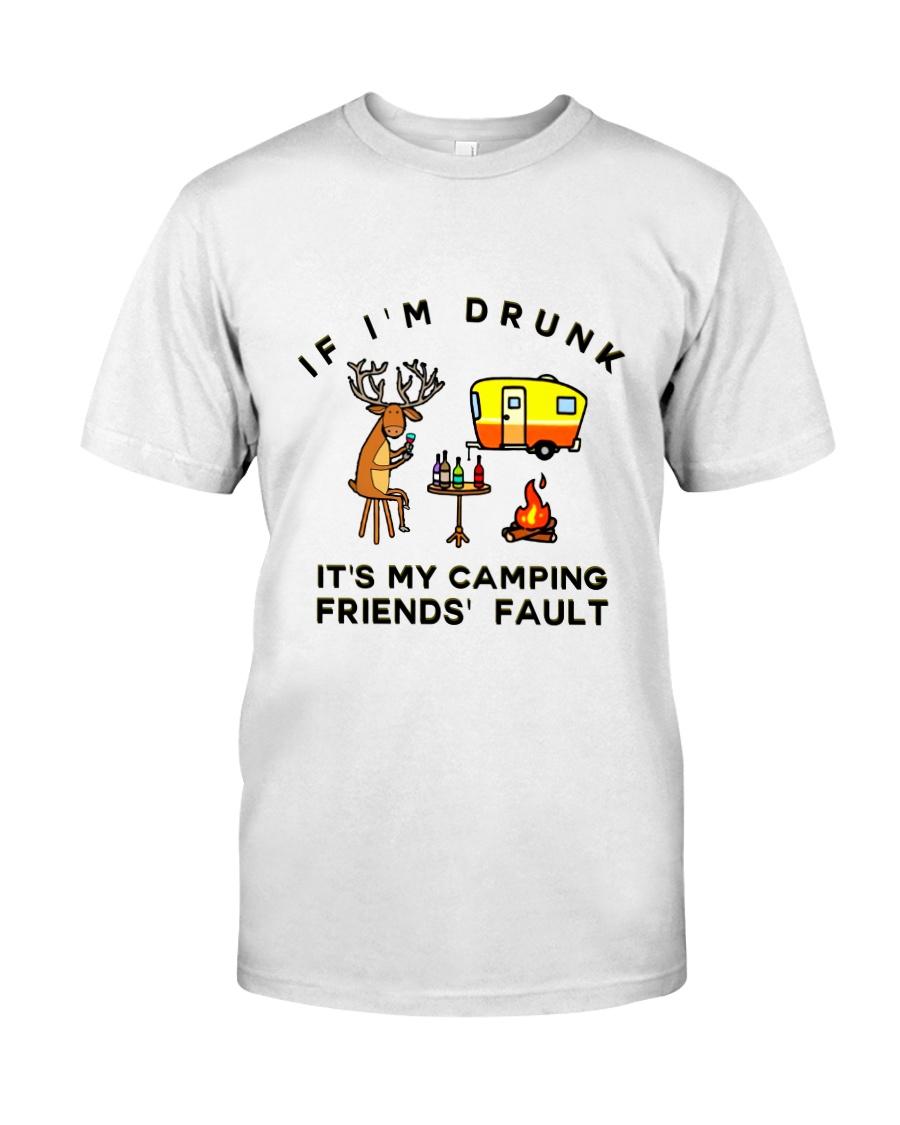 Deer Buck Camping Classic T-Shirt
