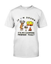 Deer Buck Camping Classic T-Shirt front