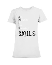 SEE MIRACLES IN LIFE EVERYDAY Premium Fit Ladies Tee thumbnail