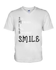 SEE MIRACLES IN LIFE EVERYDAY V-Neck T-Shirt thumbnail