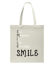 SEE MIRACLES IN LIFE EVERYDAY Tote Bag thumbnail