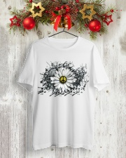 DAISY PEACE Classic T-Shirt lifestyle-holiday-crewneck-front-2