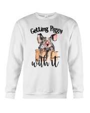 GETTING PIGGY WITH IT Crewneck Sweatshirt thumbnail
