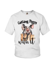 GETTING PIGGY WITH IT Youth T-Shirt thumbnail