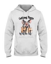 GETTING PIGGY WITH IT Hooded Sweatshirt thumbnail