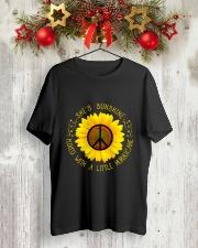 She Is Sunshine Classic T-Shirt lifestyle-holiday-crewneck-front-2