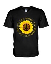 She Is Sunshine V-Neck T-Shirt thumbnail