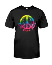 LOVE MUSIC PEACE Classic T-Shirt front