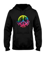 LOVE MUSIC PEACE Hooded Sweatshirt thumbnail
