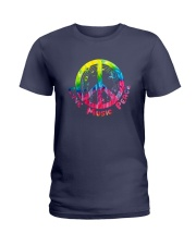 LOVE MUSIC PEACE Ladies T-Shirt thumbnail