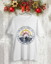 Into The Forest I Go Classic T-Shirt lifestyle-holiday-crewneck-front-2