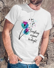 Be alright Classic T-Shirt lifestyle-mens-crewneck-front-4
