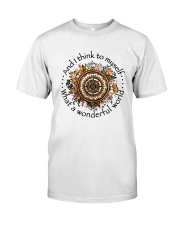 And I Think To Myself  Classic T-Shirt front