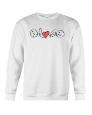 PEACE LOVE Crewneck Sweatshirt thumbnail