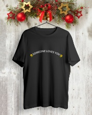 Someone loves you Classic T-Shirt lifestyle-holiday-crewneck-front-2