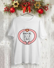 RADICAL SELF LOVE Classic T-Shirt lifestyle-holiday-crewneck-front-2