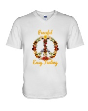 PEACE V-Neck T-Shirt thumbnail
