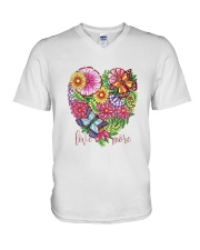 Love You More V-Neck T-Shirt thumbnail
