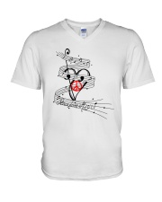 PEACE LOVE MUSIC V-Neck T-Shirt thumbnail