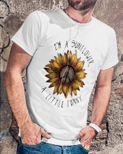 IM A SUNFLOWER A LITTLE FUNNY Classic T-Shirt lifestyle-mens-crewneck-front-4