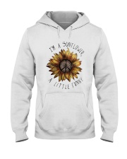 IM A SUNFLOWER A LITTLE FUNNY Hooded Sweatshirt thumbnail