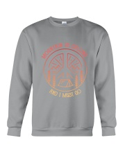 CP-D25021918-Mountain is calling and i must go 3 Crewneck Sweatshirt thumbnail