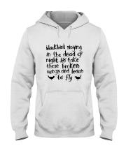 Blackbird Singging Hooded Sweatshirt thumbnail